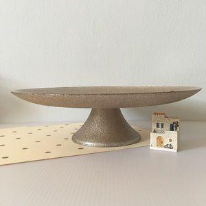 🆕 Festive Gold Shimmering 🎂🧁🍪 Pedestal